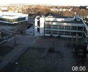 Foto der Webcam: Verwaltungsgebäude, Innenhof mit Audimax, Hörsaal-Gebäude 1