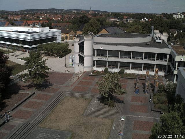 Webcam der Universität Hildesheim